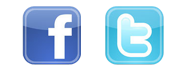 Facebook and Twitter Icons for Email Signatures