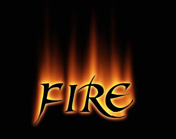 11 Cool Fire Fonts Images