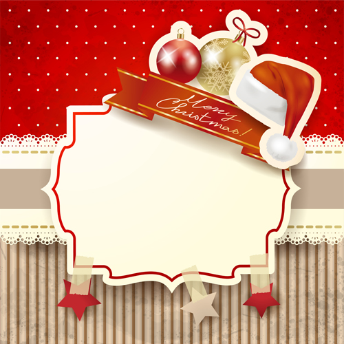 Free Christmas Card Frames