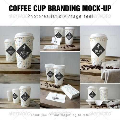 Free Coffee Cup Mock Up