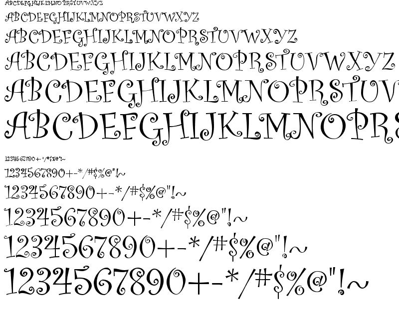 Download curlz mt font.