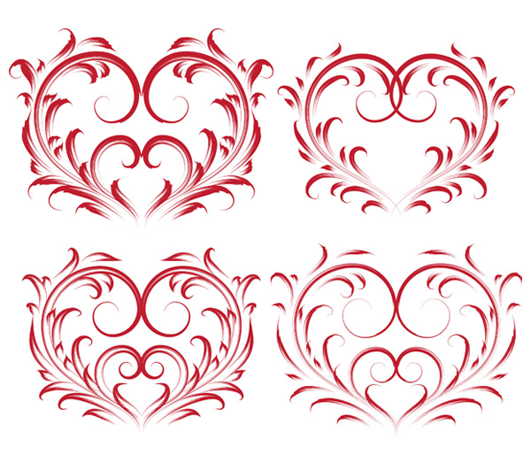 11 Valentine's Card Vector Images