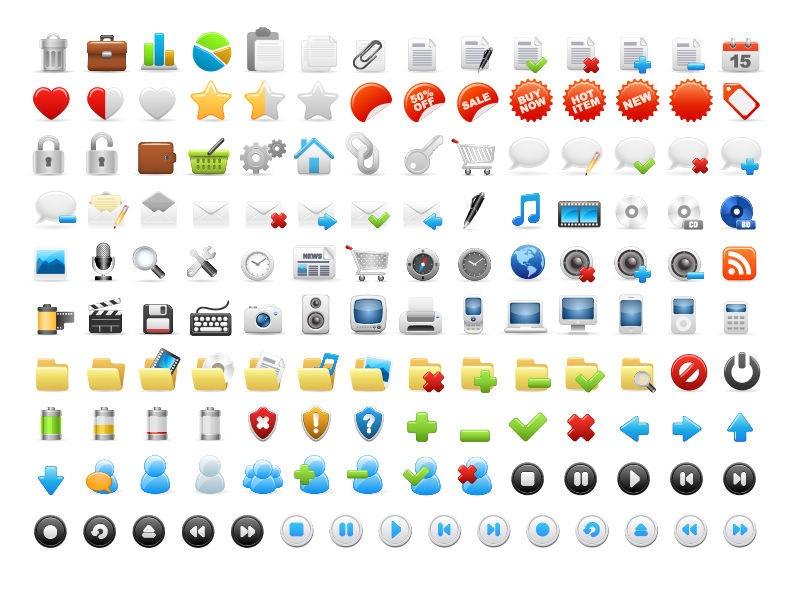 13 Website Icon Sets Images