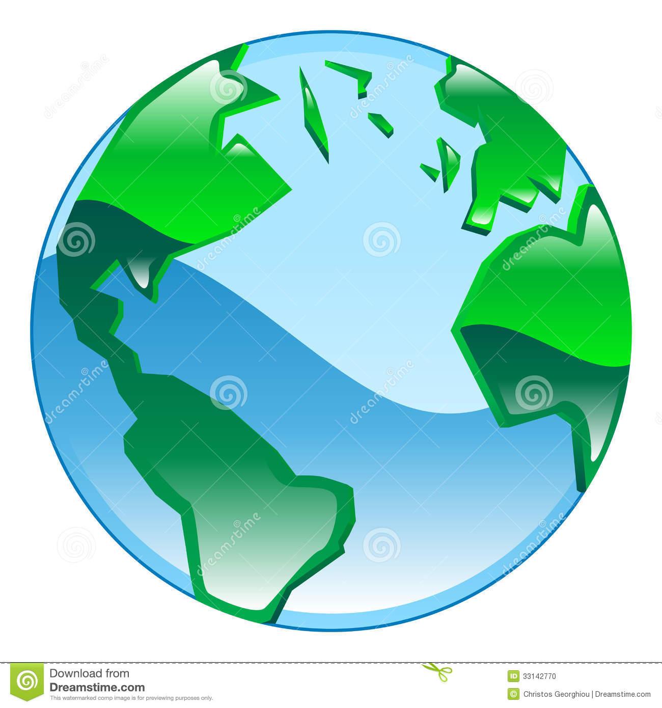 Globe Clip Art Illustrations