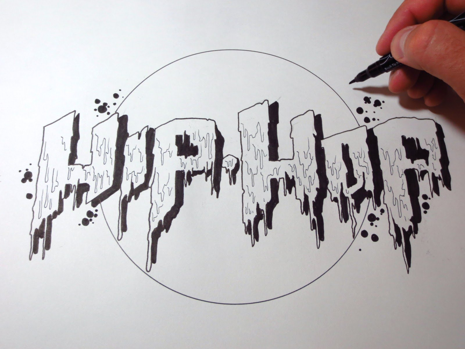 How to Draw Graffiti Letters Hip Hop