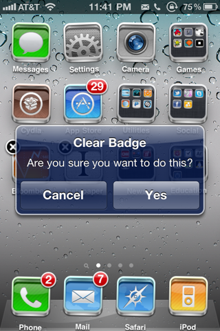 iPhone Badge App Icon