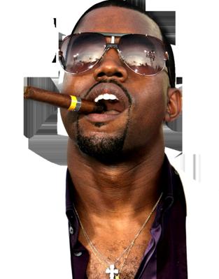9 Kanye West Retro PSD Images