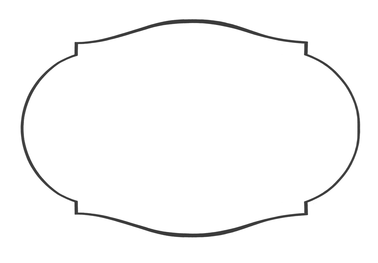 Fancy Shape Template