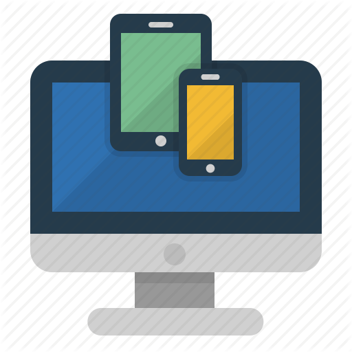 Laptop Computer Tablet Phone Icon
