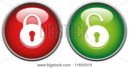 13 Small Lock Unlock Icon Images