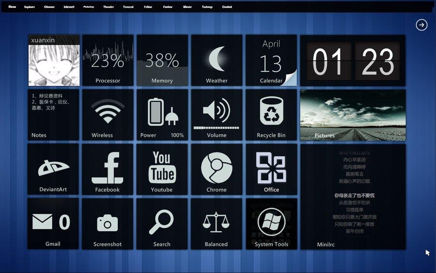 9 Microsoft Modern UI Design Images