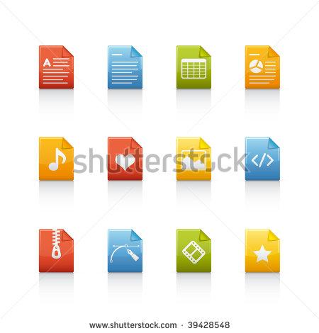 Multiple Files Icon