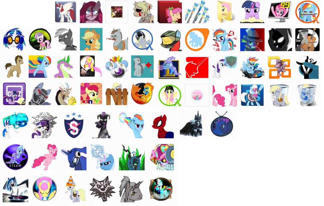 13 My Little Pony Desktop Icons Images
