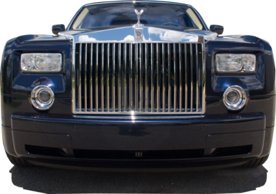 Navy Blue Rolls-Royce Phantom