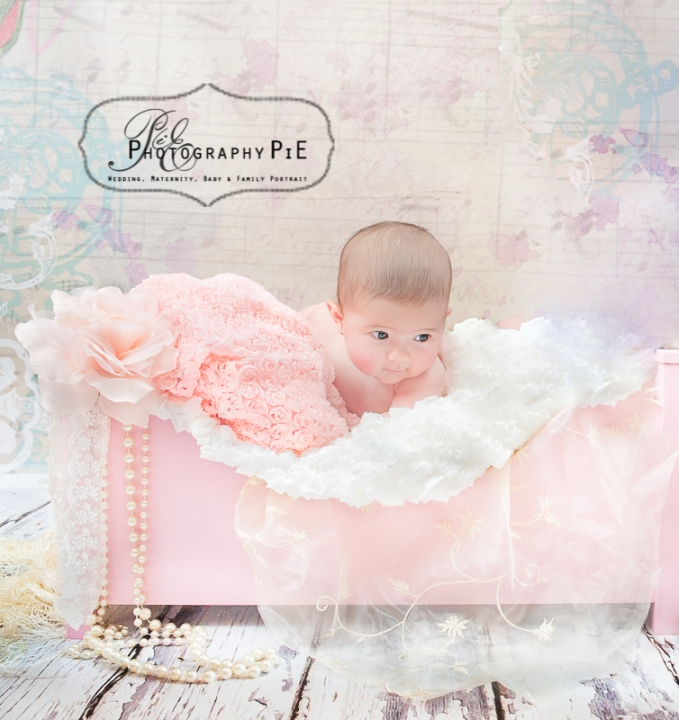 Newborn Baby Photography Bed Prop