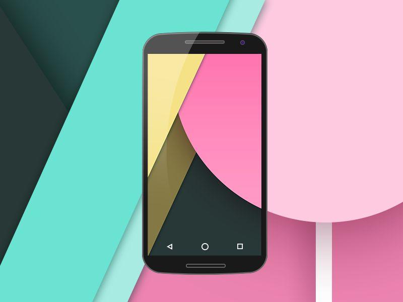 14 Nexus 6 PSD Mockup Images
