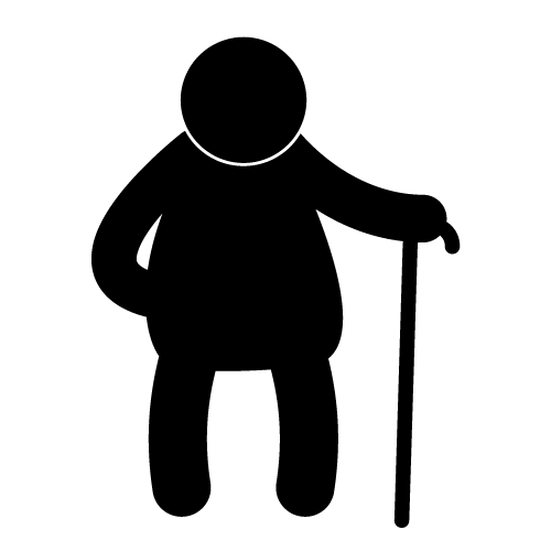 13 Old Woman Icon Images