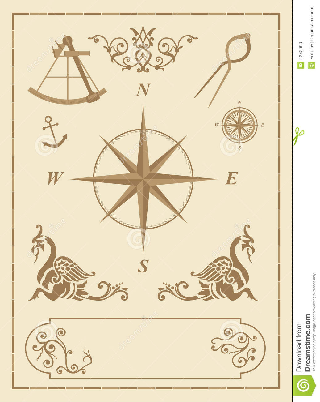 Old Nautical Symbols