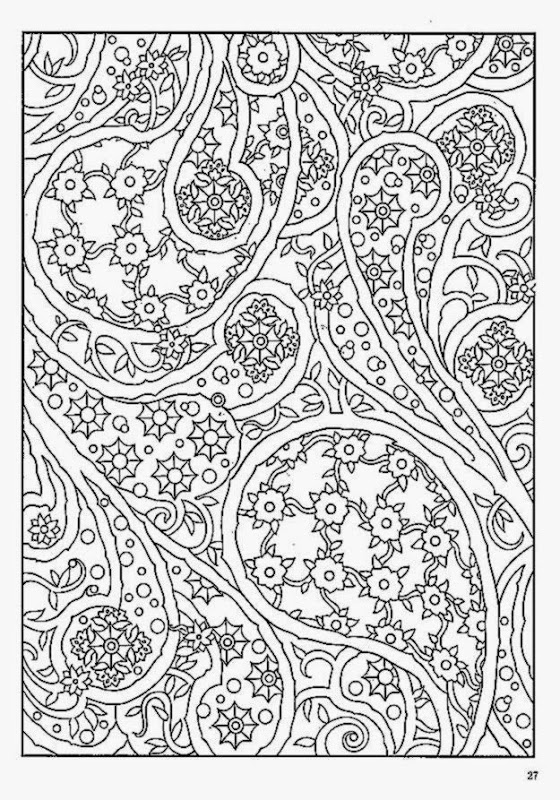 14 Crazy Designs Coloring Pages Images Pattern Pattern