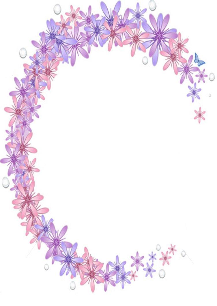 Pretty Flower Border Design