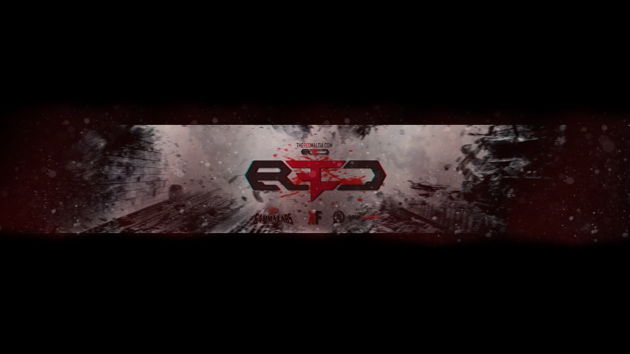 Reserve Red YouTube Banner