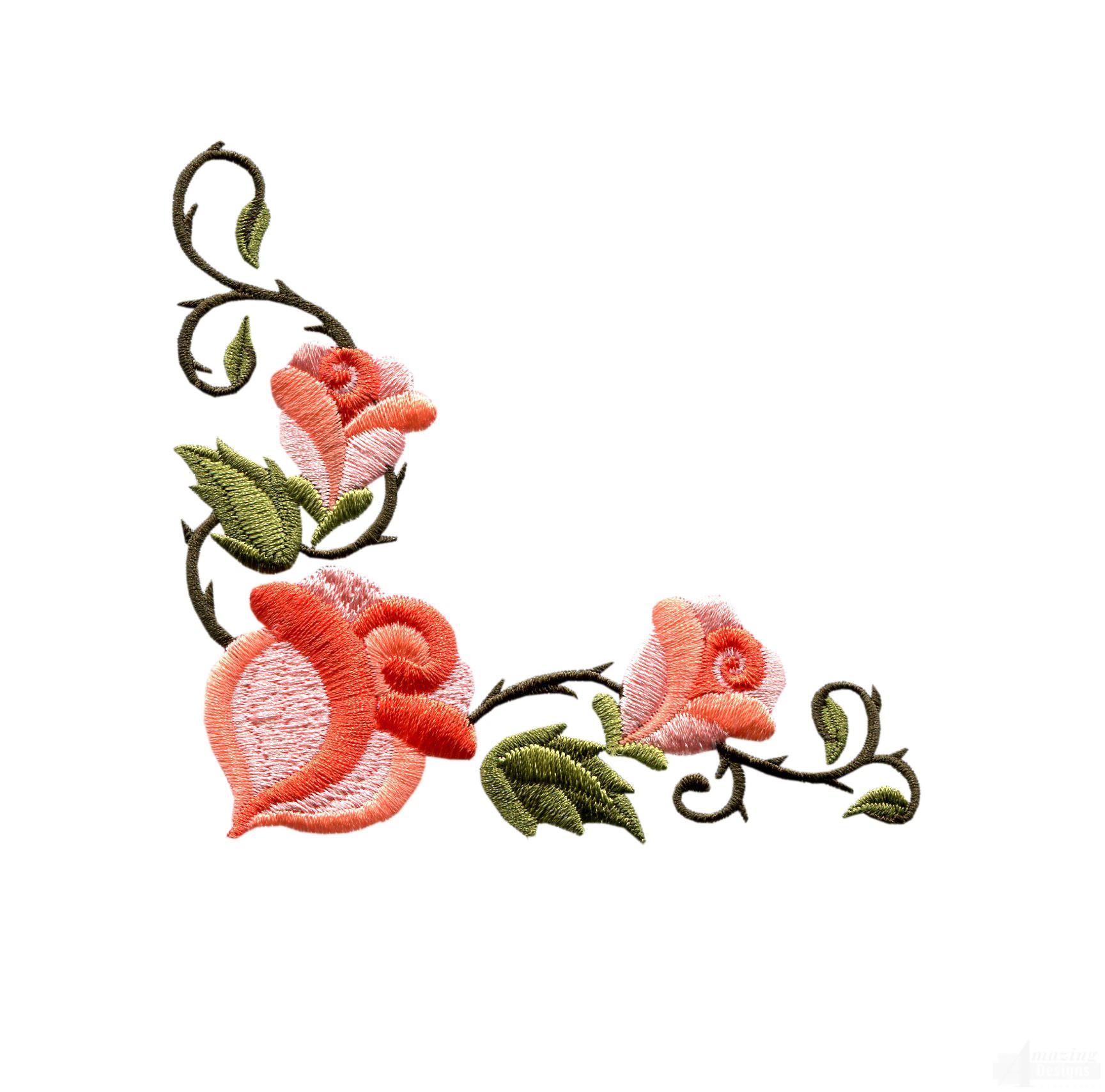 Rose Flower Border Design