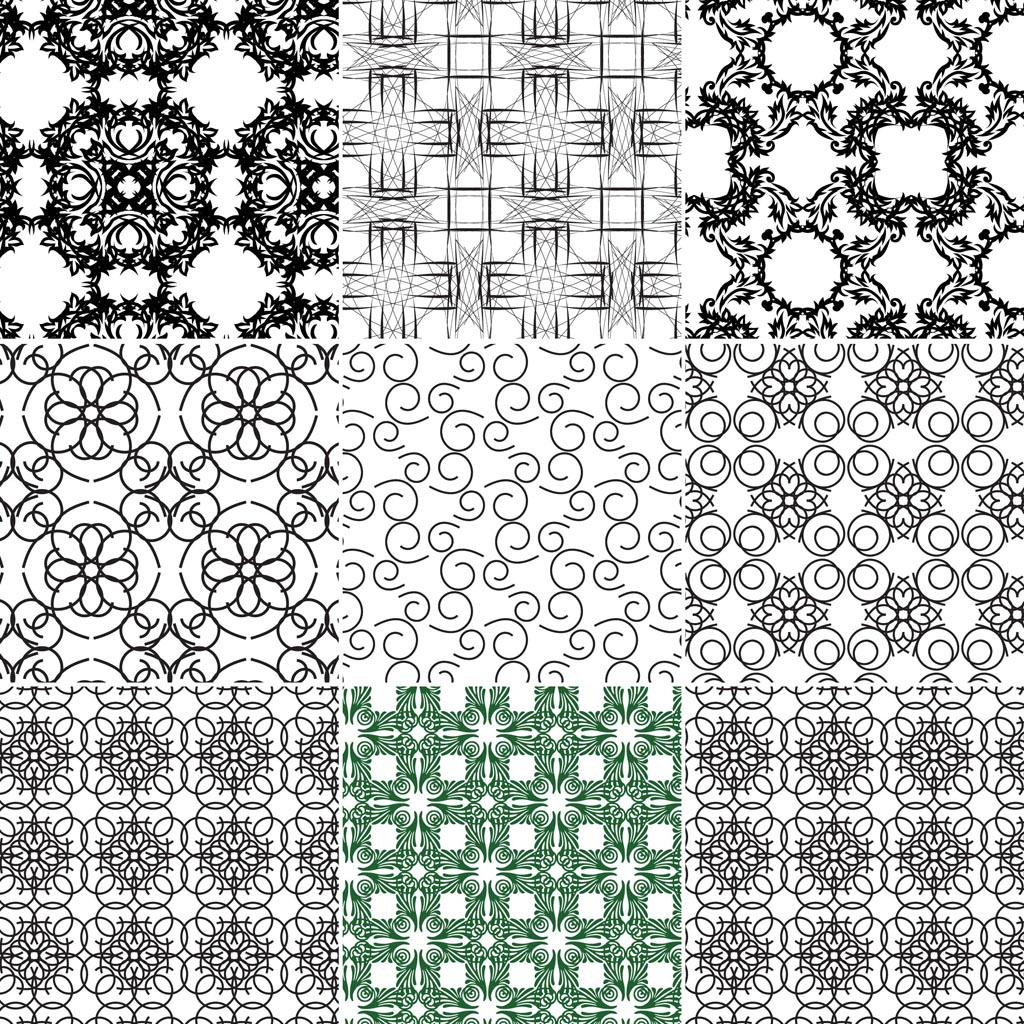 13 Free Seamless Vector Patterns Images