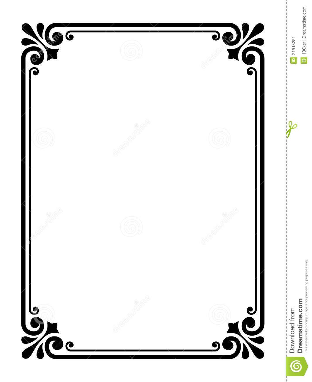 Simple Decorative Border Designs