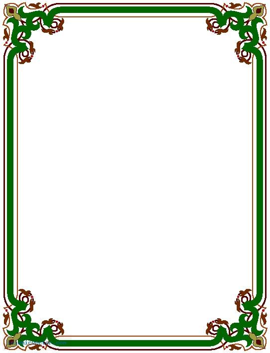 Simple Page Border Designs
