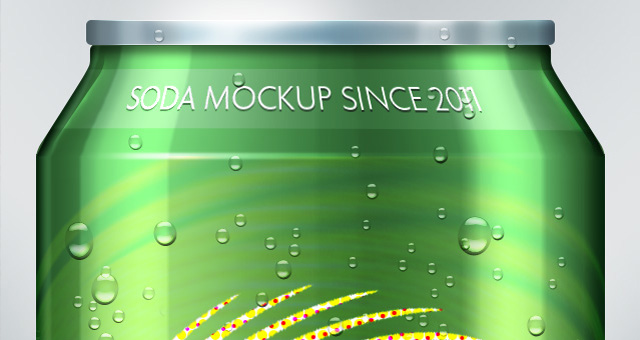 10 Soda Can PSD Mockup Images