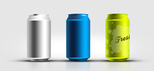 Soda Can PSD Mockup Templates