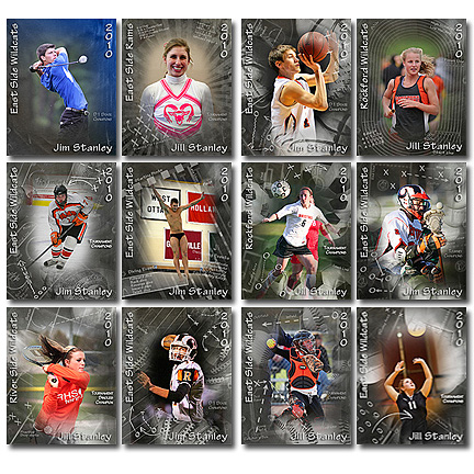 6 PSD Sports Templates Images