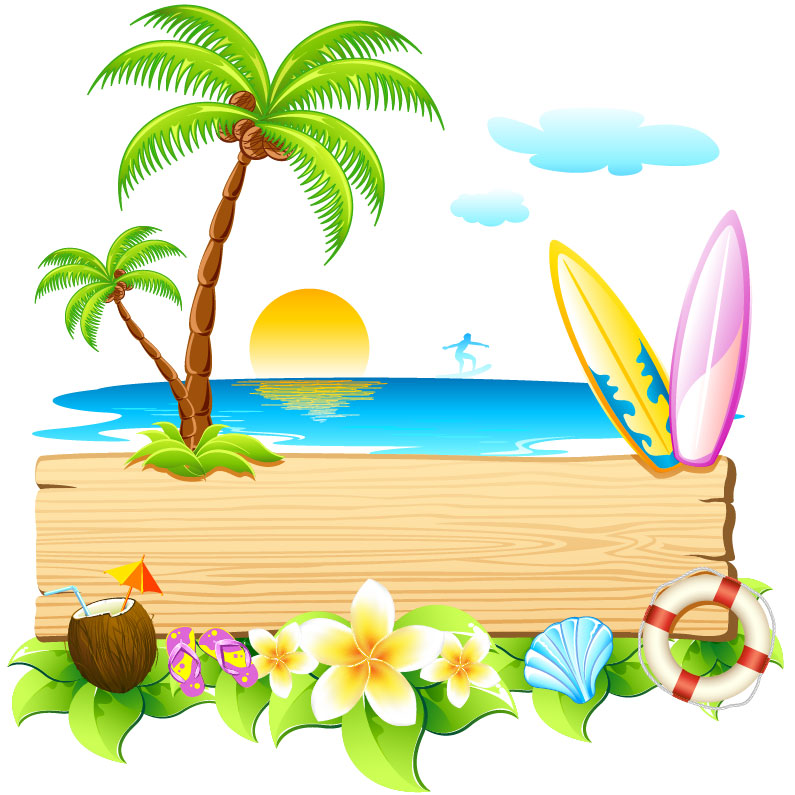 Summer Beach Party Clip Art