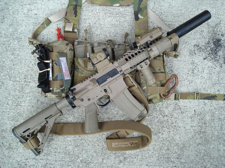 13 LWRC PSD Suppressed Images