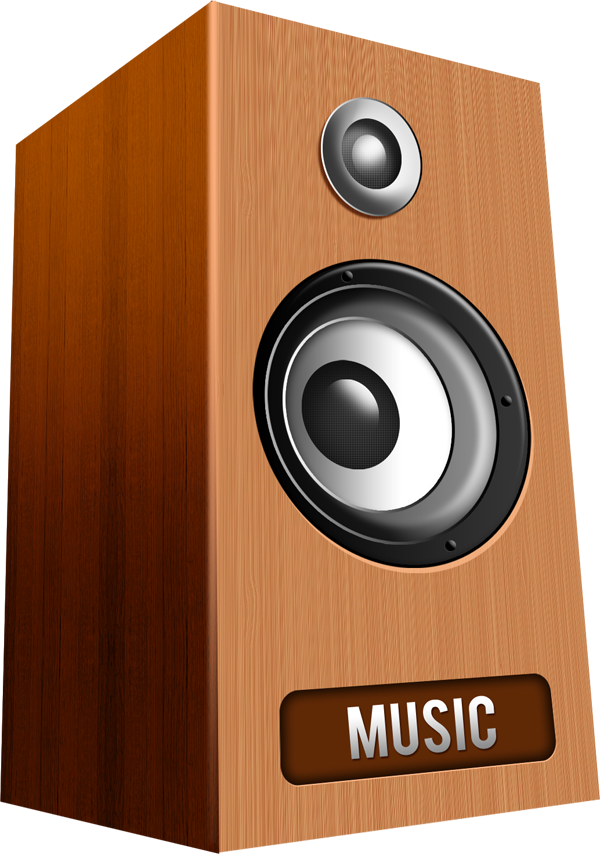Transparent Speaker Icon