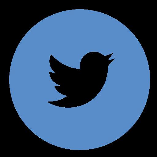 12 Twitter Icon Circle EPS Images