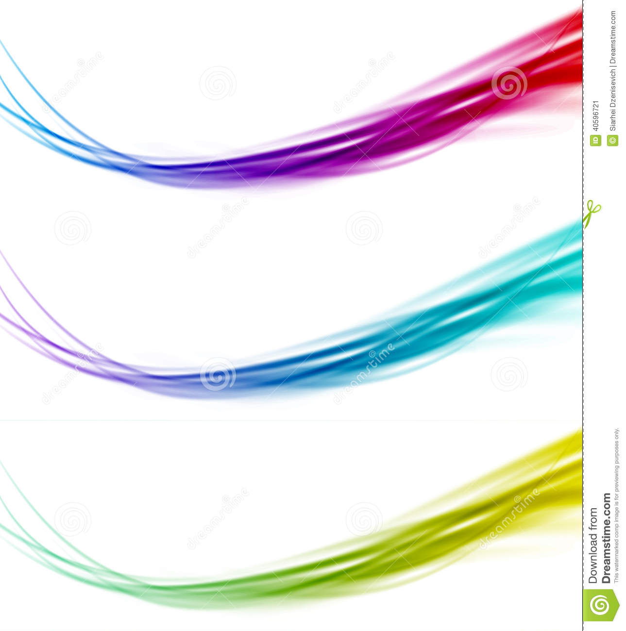 15 Abstract Lines Vector Border Frame Images - Abstract ...