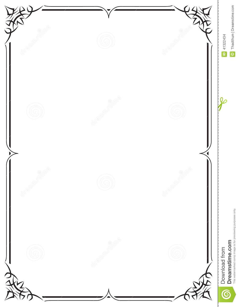 Frame Design Line Art : Abstract lines vector border frame images