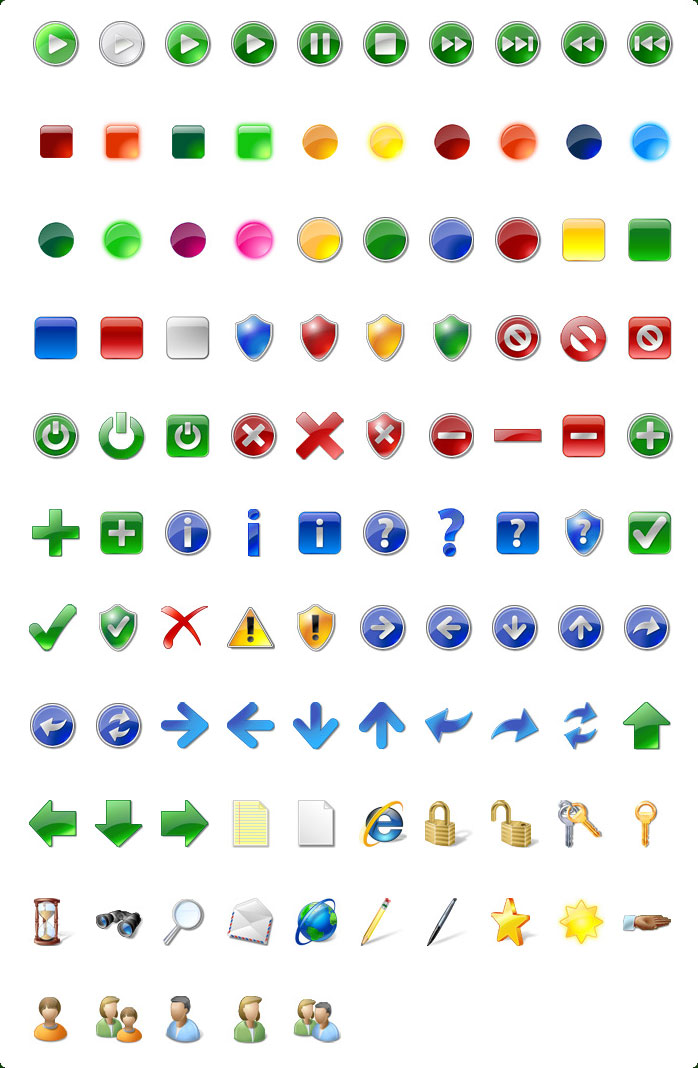 Vista Style Icons