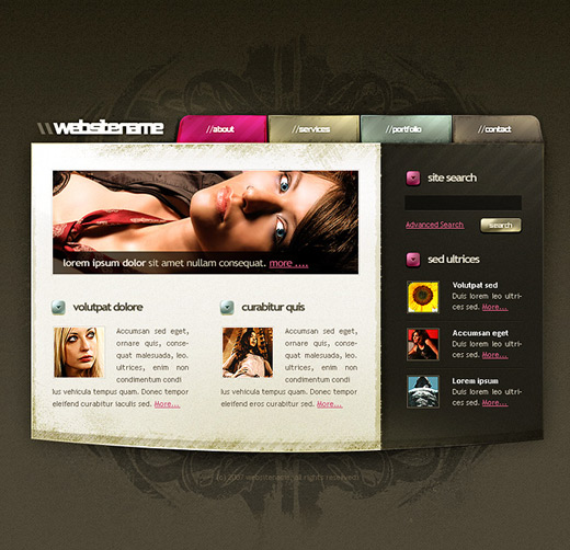 13 Web Page Design Ideas Images