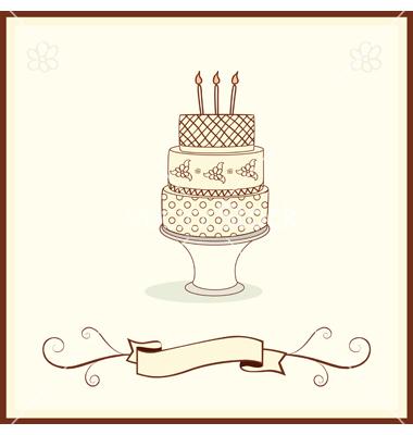 14 Cake Art Wedding Vector Images Wedding Cake Vector Free Vector