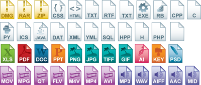 Windows 8 File Type Icons
