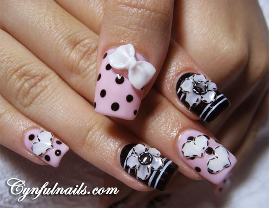 16 Best Acrylic Nail Art Design Images