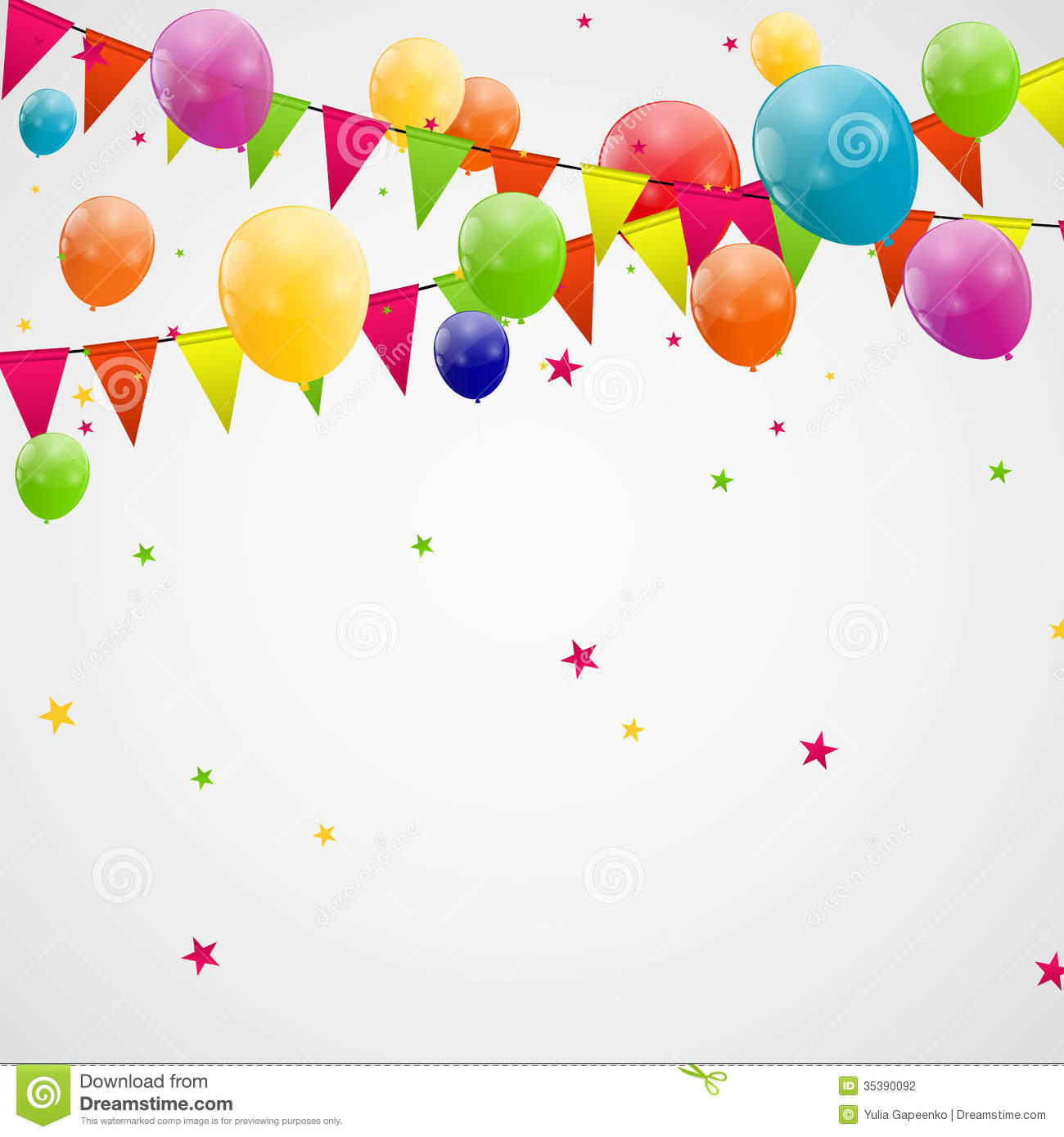 Balloon Vector No Background