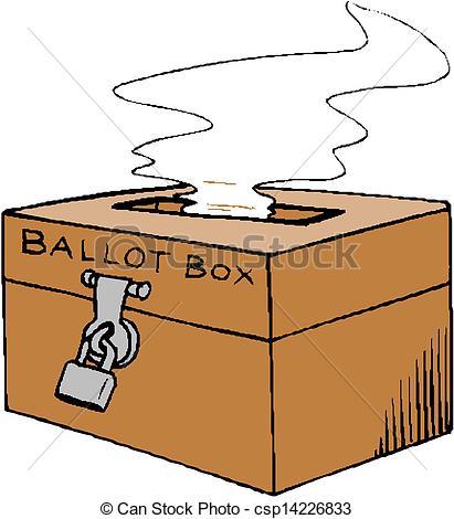 Ballot Box Clip Art