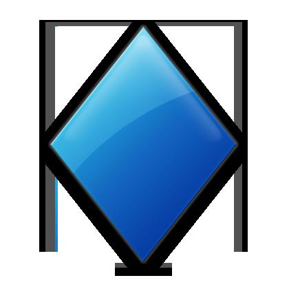9 Diamond Shape Icon Images
