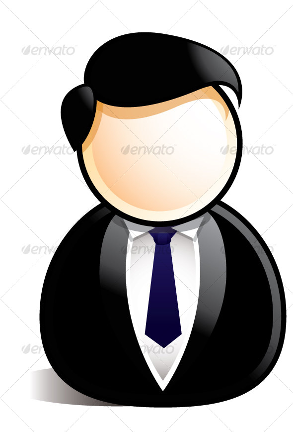 12 Old Business Man Icon Vector Images