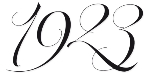 Calligraphy Script Fonts Numbers