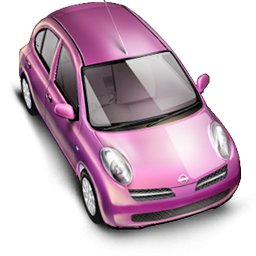 9 Pink Car Icon Images