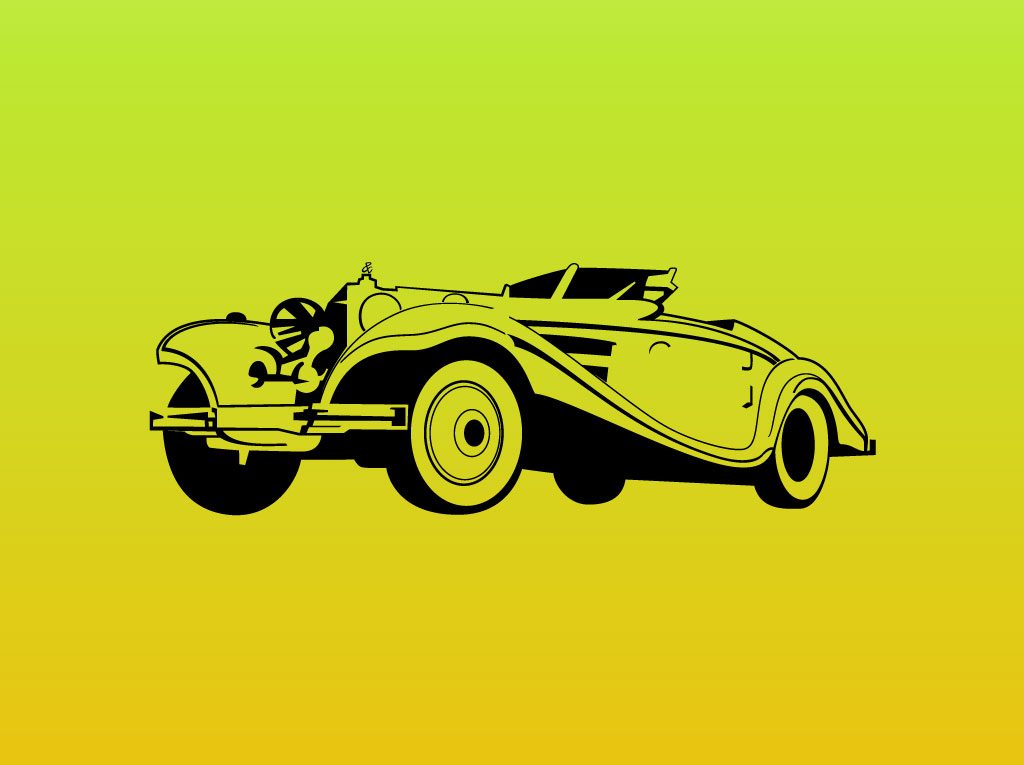 19 Car Vector Graphics Images